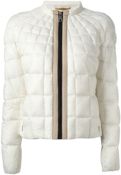 Fay White Padded Jacket