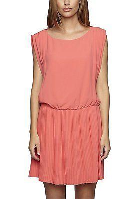 10, Orange - Orange (hummer), APART Fashion Women's 39963 Sleeveless Dress NEW