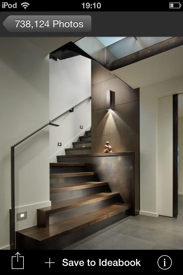 Style pour escalier sous sol
