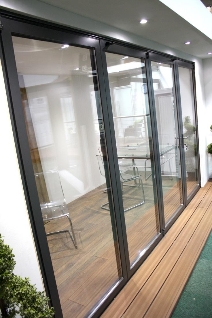 68 best garage door showroom images on pinterest carriage doors solarlux bi folding door displaying in our newly refurbished showroom rubansaba
