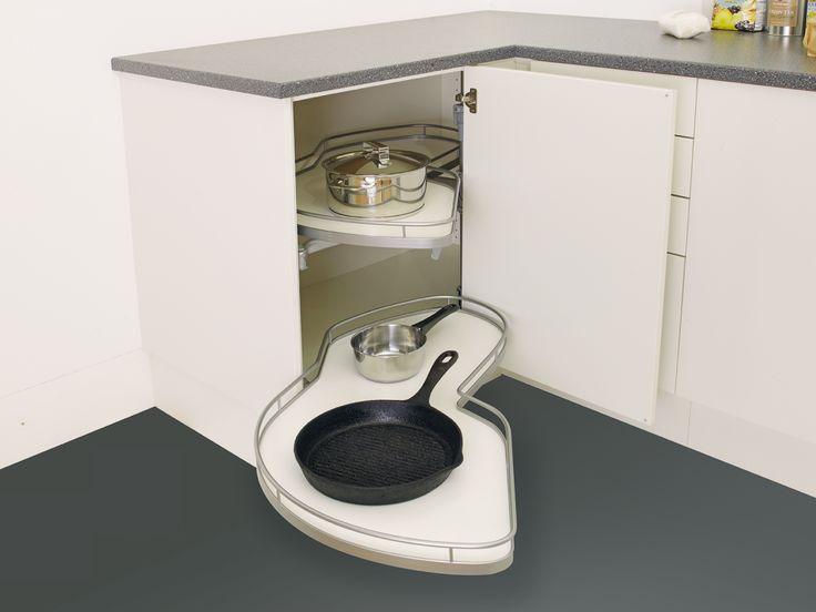 Sigdal kjøkken - innredning LeMans karusell