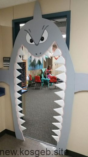 Photo of Watch the teeth of the sharks! My new door – Buket Sags. – #observe…