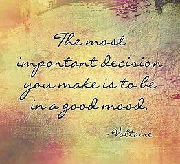 Good mood...
