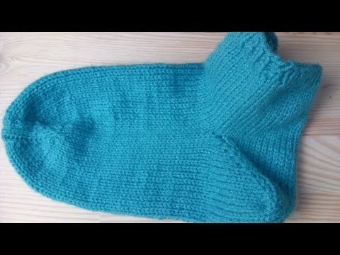 How to knit socks very easy - YouTube