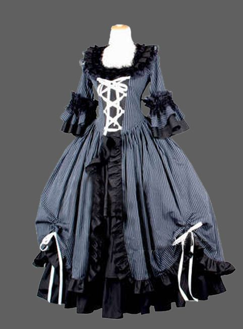 >> Click to Buy << Gothic Historical Euro Court Princess Long Dress Cosplay Dress/southern belle costume victorian dress costume #Affiliate