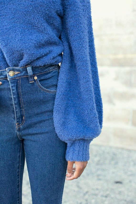 Zimmermann Sweater SALE 30% OFF- Indigo Adorn Slouch Poloneck | BONA DRAG