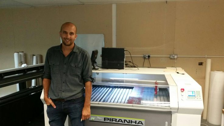 Thanks to RPS (Retail Print Solutions) for purchasing a 1390 Piranha Laser #laser #lasercutter #cutter #engraver