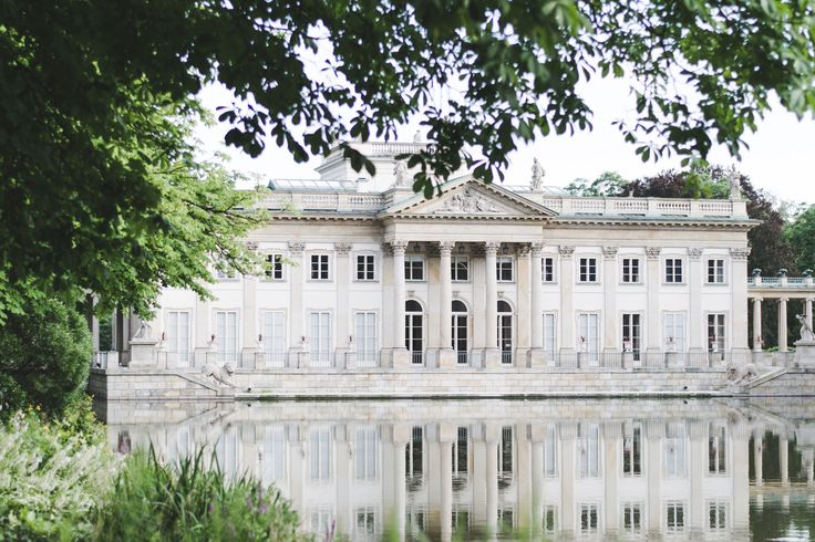 The Palace on the Isle, Łazienki Park in Warsaw - from travel blog: http://Epepa.eu