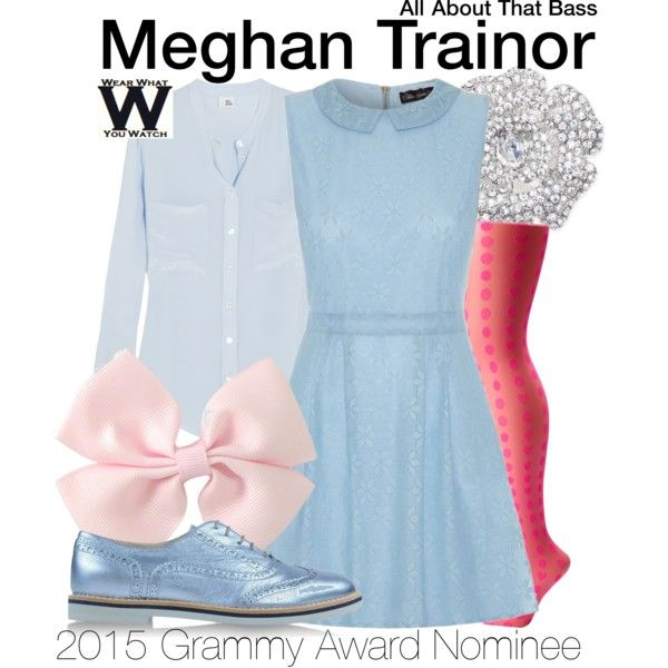 Inspired by Meghan Trainor in her 2014 music video for All About That Bass. For the 2015 Grammy Awards, Meghan Trainor is nominated for Record of the Year and Song of the Year.