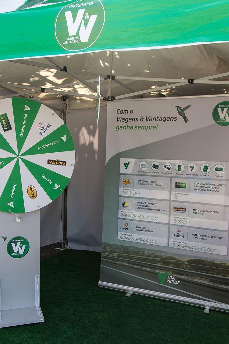 Os parceiros Auto do Viagens & Vantagens também estão connosco na Volta a Portugal. Em cada etapa, com muitos prémios na nossa roda da sorte! #viaverde #viagensevantagens #Portugal #voltaaportugal #bicicleta #ciclismo