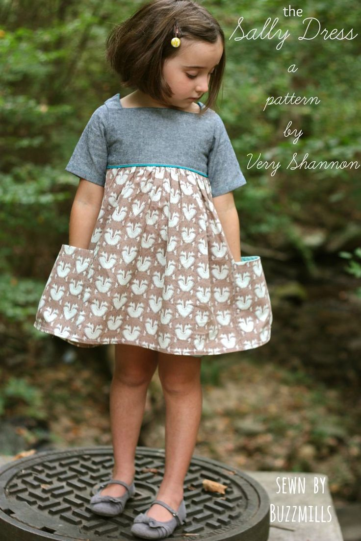 The Sally Dress pattern, sewn by Buzzmills + a GIVEAWAY!