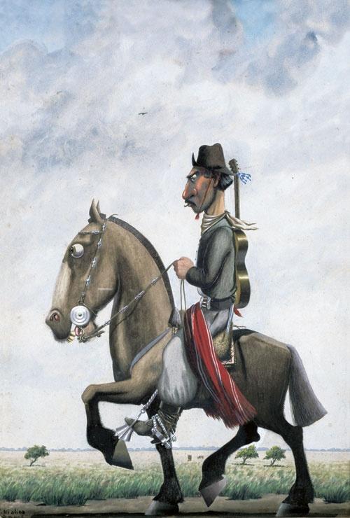 Florencio de los Ángeles Molina Campos - El payador