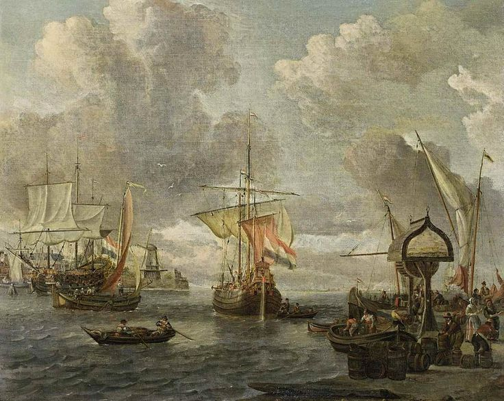 View of a Harbour on the Zuiderzee
