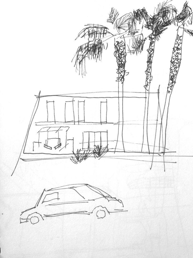 Sketch on McClintock/Jefferson