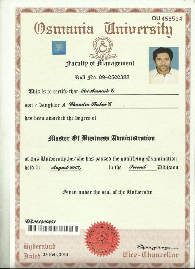 Convocation Degree Certificate Degree Certificate Certificate