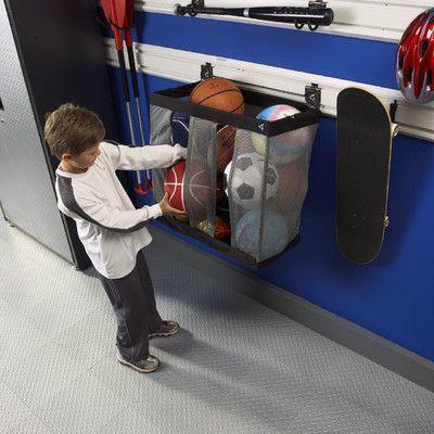 "Gladiator 24"" W Ball Caddy Garage Storage for GearTrack or GearWall"