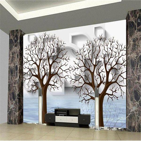 Compre Custom 3d Elephant Wall Mural Personalized Giant Photo Wallpaper Decoracion Interior Mural Animal Wallpape Wall Art Wallpaper Wall Murals Kid Room Decor