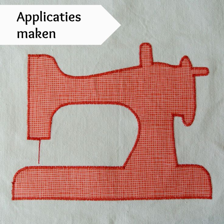 Sew Natural Blog: Tutorials - netjes Applicaties naaien