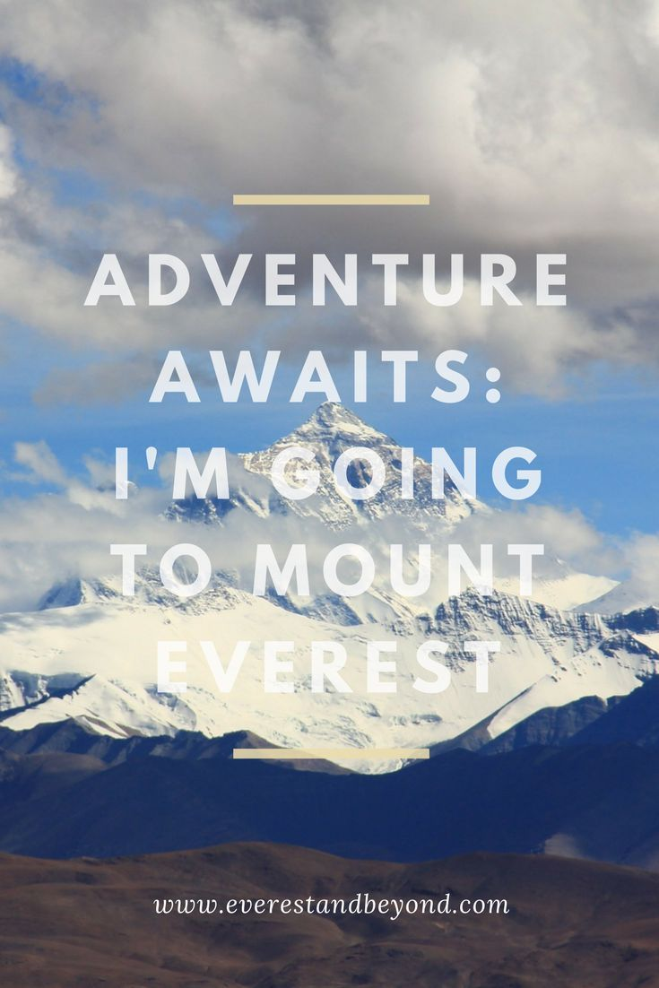 I M Heading To Nepal In September To Trek To The Mount Everest