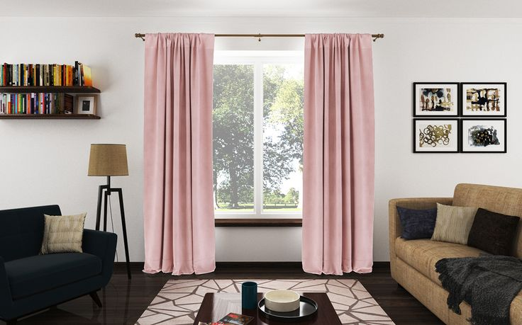 Rod Pocket Drapery Panels from a Chenille fabric with a beautiful velvet feel.