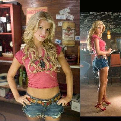 If i work really really hard, maybe I can look like that....jessica simpson as daisy duke