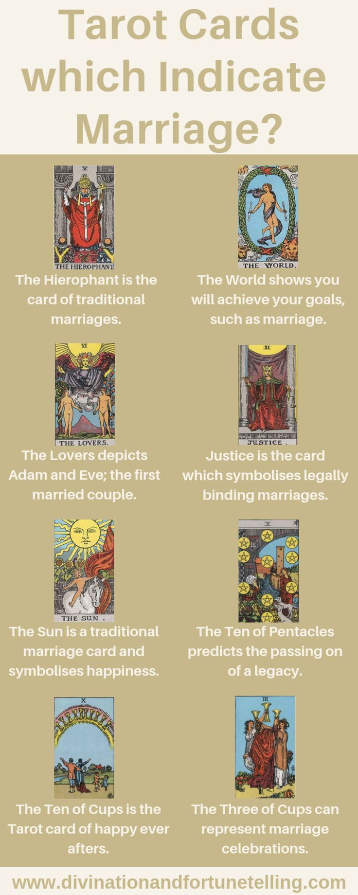 Tarot Cards Which Can Mean Marriage Lisa Boswell Marriage