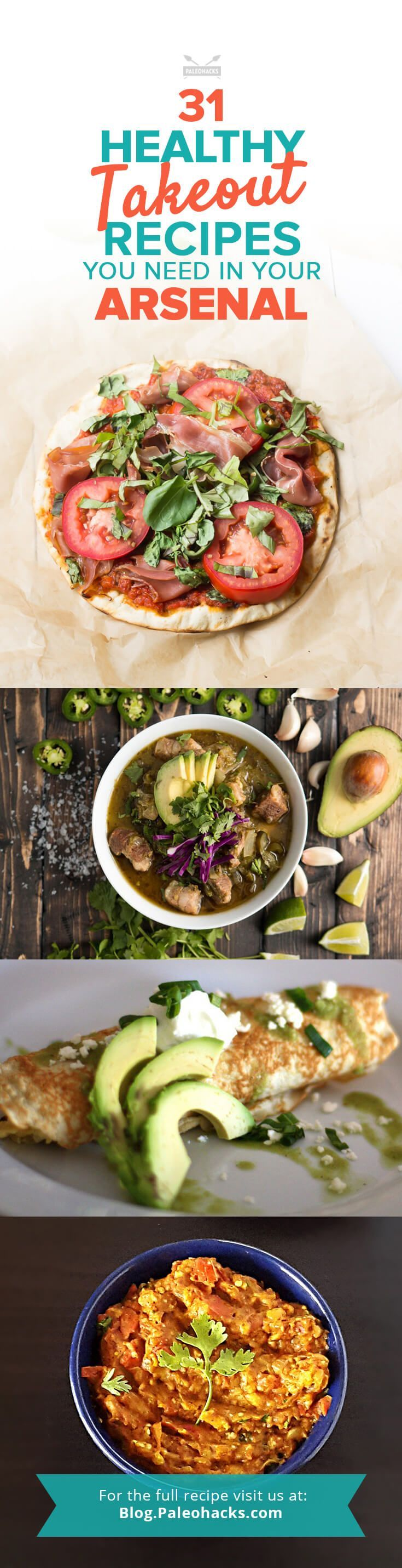 From savory chow mein to shrimp fried rice to sushi rolls and more, your favorite takeout dishes are easily made Paleo at home with a few substitutions. Even the most diehard Paleo devotee gets struck by a craving for some quick and dirty Chinese takeout, or a greasy spoon-style burger, or a taco truck's finest. For the full recipe compilation visit us here: paleo.co/... #paleohacks #paleo