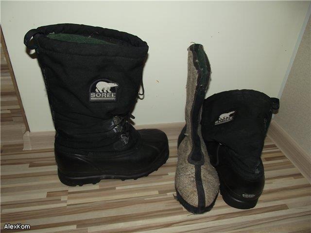 Обувь для зимняя для сильных морозов