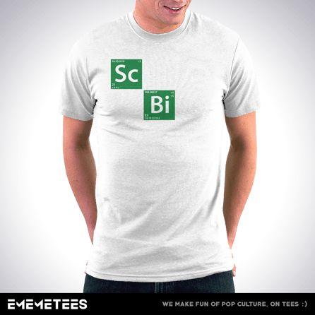 Science Bitch (męska koszulka t-shirt)