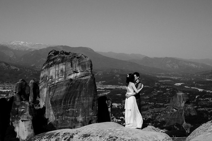 Mountainous Elopement at Meteora, Greece