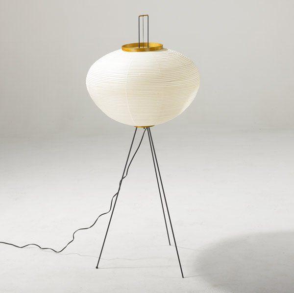 ISAMU NOGUCHI Akari floor lamp