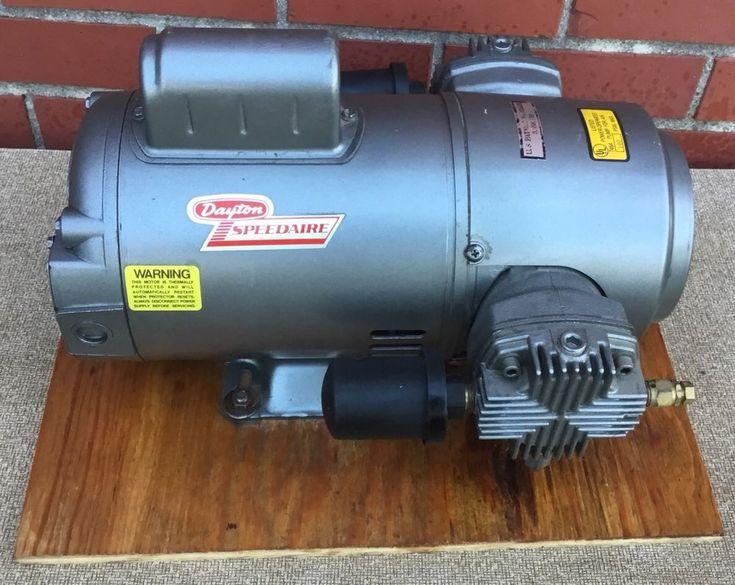 Dayton Speedaire 2Z869 1/2 HP oil-less reciprocating Air Compressor Pump New NOS #DaytonSpeedaire