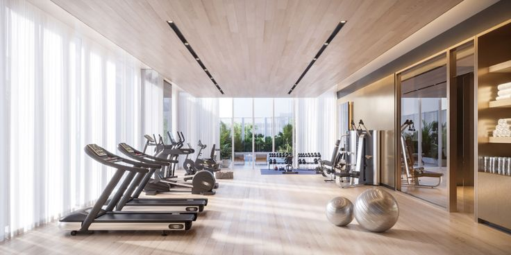 Scope Unveils Luxurious Clubhouse In Its Langsuan Condominium Gym Room At Home Club House Gym Interior