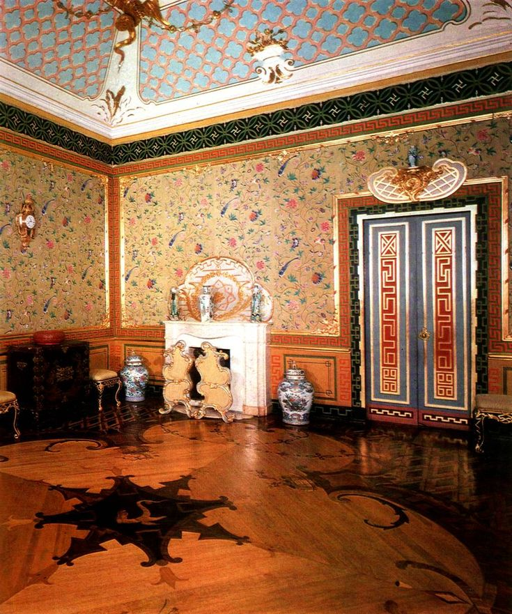 Oranienbaum. Ораниенбаум. Китайский дворец. Малый Китайский кабинет
