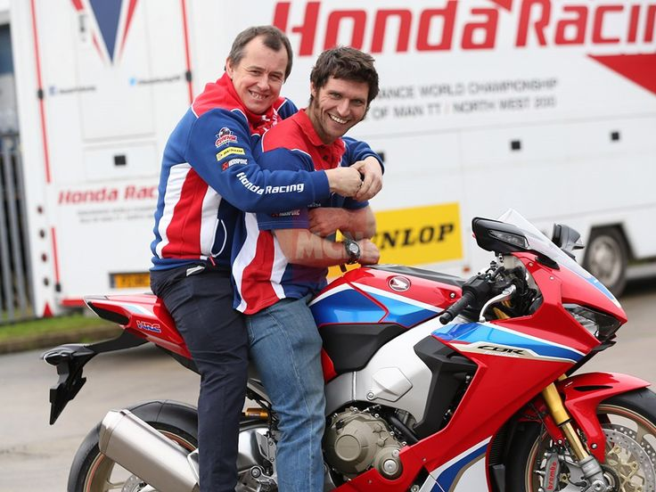 Gallery: Guy Martin signs for Honda Racing