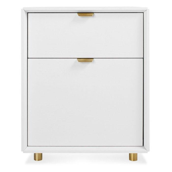Dang File Pedestal - Modern Filing Cabinet - Blu Dot