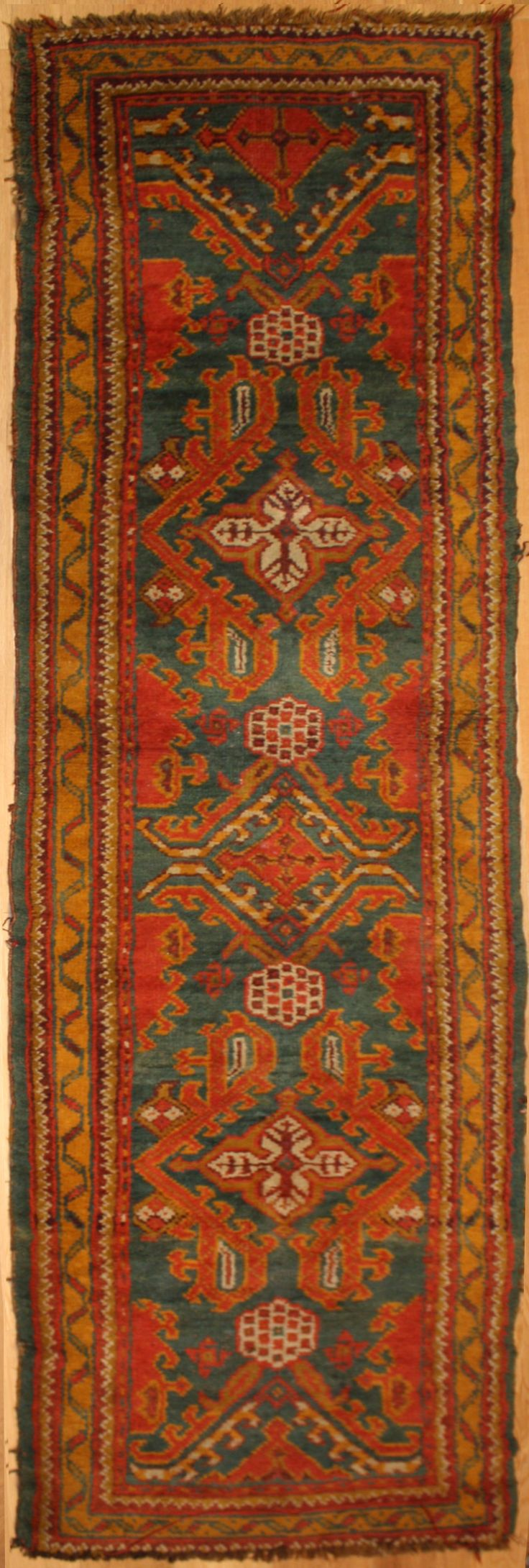 Beautiful Antique Ushak Carpet Runner See more Details visit Rug Store, http://www.rugstoreonline.co.uk/