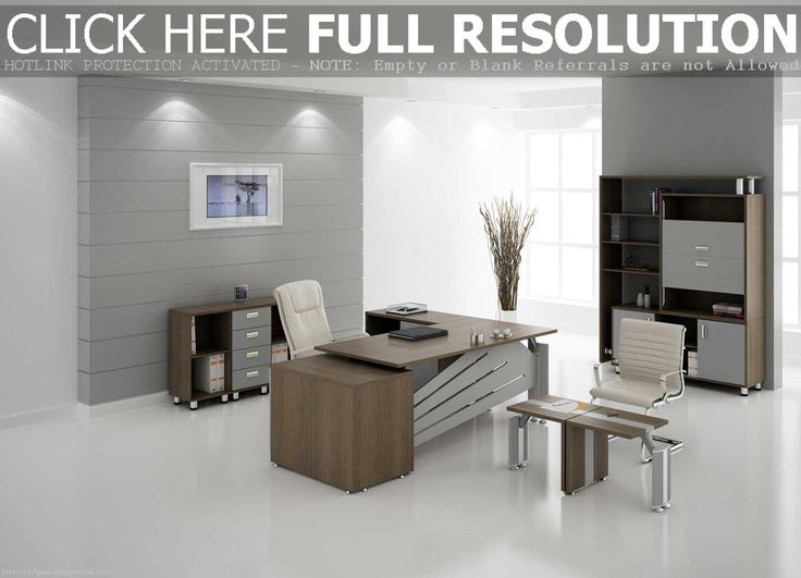 Winsomeas Well White Gray Paint Wall As Well Modern Office Interior  Furniture Design Set With White Chairs And Cabinets Along With Lighting  Ceiling ...