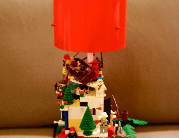 Lego Lamp #hattalab21 #handmade #lamp #toys #lego