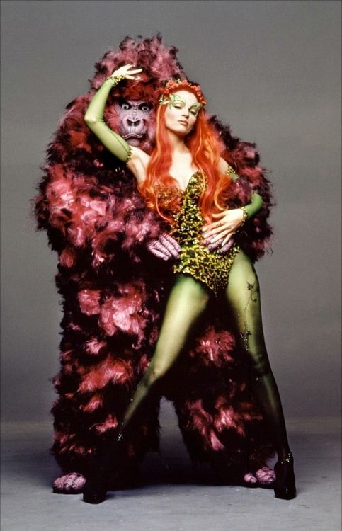 Uma Thurman as Poison Ivy from Batman Forever