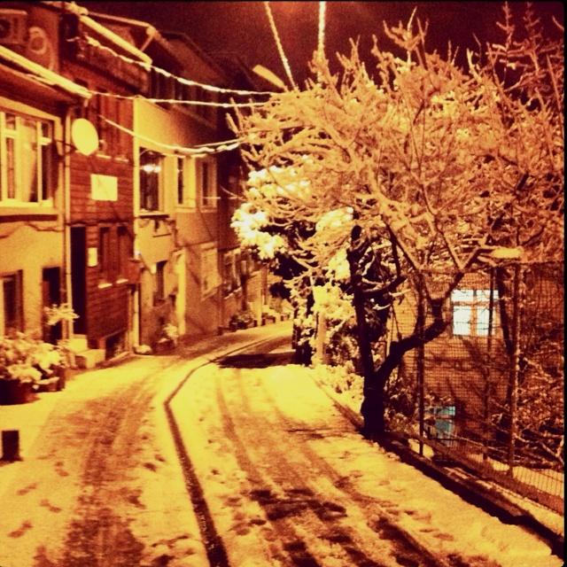Arnavutkoy Istanbul... After snow...