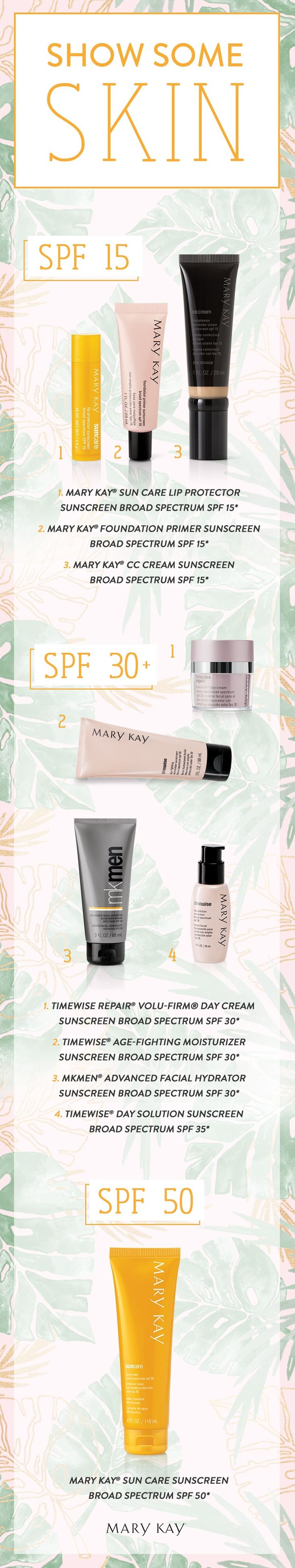 Spf Protection At Every Level! Find The Right Formula For Your Skin Care  Needs With
