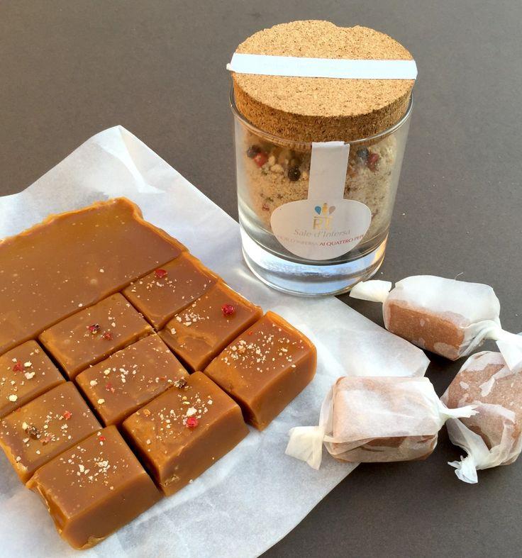 #ConfectionCollection: Sea Salt & Pepper Caramels