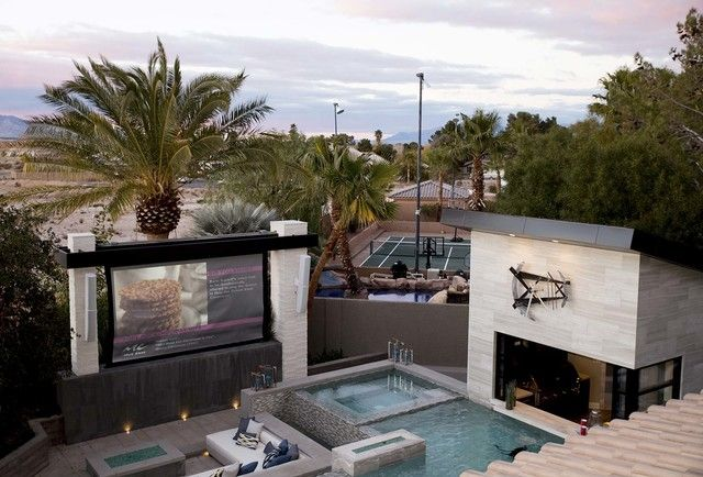 """When HGTV's popular series stars Jonathan and Drew Scott decided to build their dream home after three years of doing so for others on """"Property Brothers,"""" they chose Las Vegas for their base."""