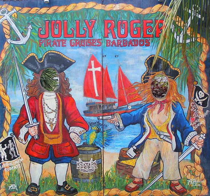 You might still spot a pirate or two in Bridgetown :)