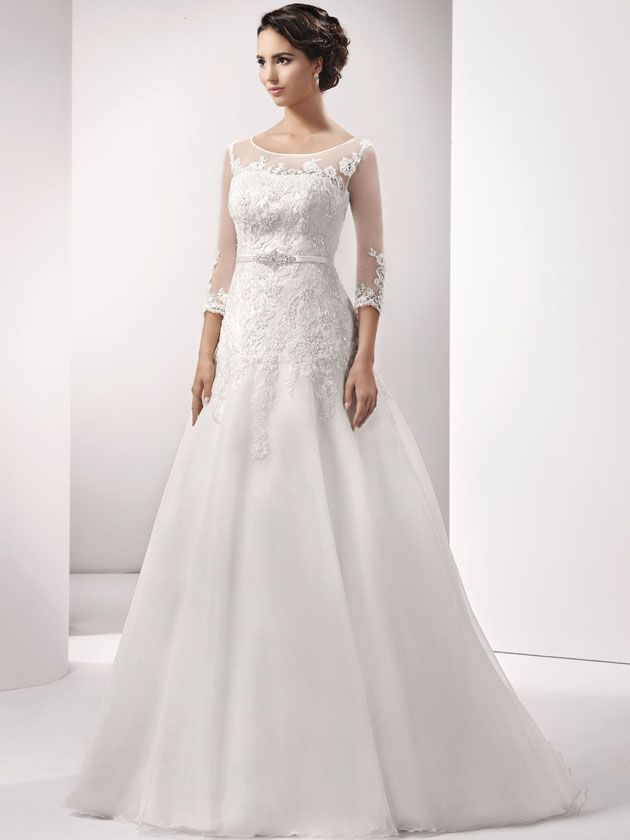 67 best Brautkleider images on Pinterest | Wedding frocks ...