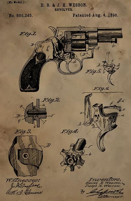 Smith And Wesson Revolver Patent