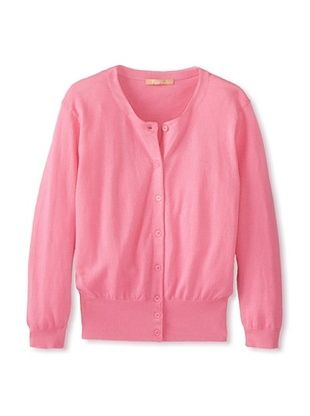 59% OFF Kier & J Women's Cropped Cardigan (Rose Pink)