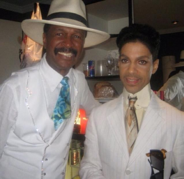 Prince and Larry Graham