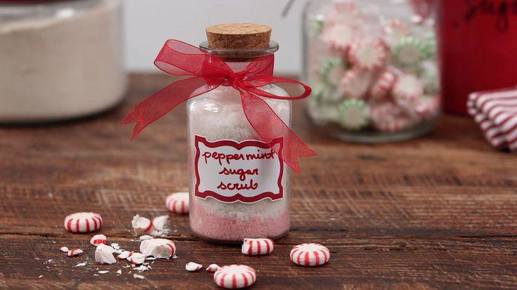 Peppermint Sugar Scrub